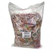 10 sacchetti da 100g di elastico gomma misure e colori assort. markin - Z05597