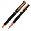 Roller impressa™ nero-rosegold punta m monteverde - Z05670