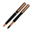 Penna stilografica impressa™ nero-rosegold punta m monteverde - Z05671