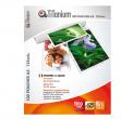 100 pouches 65x95mm 125my government card titanium - Z05783