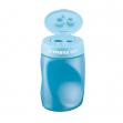 Temperamatite easy 3 fori c/contenitore ergonomico blu per mancini stabilo - Z05825
