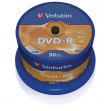 Scatola 50 dvd-r spindle 16x 4.7gb 1 matt silver - Z09424