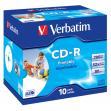 Scatola 10 cd-r datalifeplus jewel case 1x-52x 700mb stampabile inkjet - Z09440