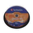 Scatola 10 dvd-r spindle 16x 4.7gb 120min.serigrafato - Z09448