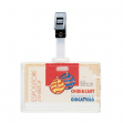 Portanome 9x6cm con clip in plastica 388 favorit - Z09655