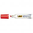 Pennarello velleda 1781 rosso p.scalpello whiteboard bic - Z09685