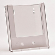 Porta depliant A5 da parete trasparente - Z09869