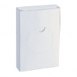 Scatola 25 sacchetti igienici in hdpe bianchi - Z10267