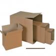 Scatola cartone per imballo avana onda singola p304xl215xh273mm - Z10271