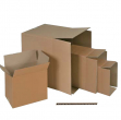 Scatola cartone per imballo avana onda singola p357xl255xh273mm - Z10273