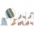 Set 8 tubi per separa monete cm018/cm020 - Z10319
