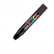 Marcatore uni posca pc17k punta scalpello 15mm nero - Z10331