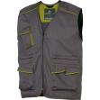 Gilet da lavoro m6gil grigio/verde tg. l panostyle® - Z10553