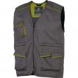 Gilet da lavoro m6gil grigio/verde tg. xl panostyle® - Z10554
