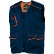 Gilet da lavoro m6gil blu/arancio tg. l panostyle® - Z10555