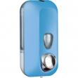Dispenser sapone liquido 0,55lt azzurro soft touch - Z10653