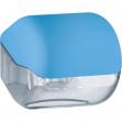 Dispenser carta igienica azzurro soft touch - Z10655