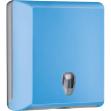 Dispenser asciugamani piegati azzurro soft touch - Z10657