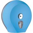 Dispenser carta igienica midi jumbo azzurro soft touch - Z10661