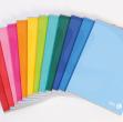 Quaderno cartonato A5 80gr 192fg+1 4mm color 80 bm - Z10760