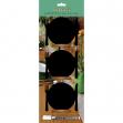 Set 3 mini lavagne segnaposto silhouette 'piatto' securit - Z10864