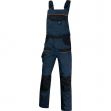 Salopette da lavoro mach 2 blu/nero tg. l - Z11154