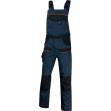 Salopette da lavoro mach 2 blu/nero tg. xl - Z11155