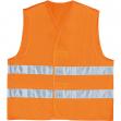 Gilet alta visibilita' arancio fluo tg. l - Z11157
