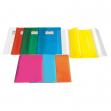 Coprimaxi in pvc goffrato trasp. 21x30cm arancione c/alette emy silk - Z11316