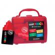 Valigetta 10 marcatore uni posca pc5m punta media colori assortiti - Z11503