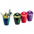 Bicchiere portapenne 2in1 mix 4 colori 80291 lebez - Z11749