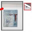 Cavo in nylon 150cm per sistema appendi quadri arte system - Z11787