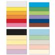 Conf.25 cartoncino bristol color 200gr 50x70cm rosa 10 favini - Z11899