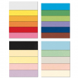 Conf.10 cartoncino bristol color 200gr 100x70cm bianco 01 favini - Z11902