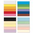 Conf.10 cartoncino bristol color 200gr 100x70cm nero 63 favini - Z11906