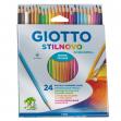 Astuccio 24 pastelli stilnovo acquarell giotto - Z11944