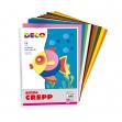 Gomma crepp conf. da 10 fogli 20x30cm in colori assortiti cwr - Z11983