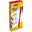 Scatola 12 penne gel cancellabili gelocity illusion 0.7mm rosso bic - Z12330