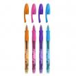 Scatola 12 penne gel cancellabili gelocity illusion 0.7mm assortiti fun bic - Z12332
