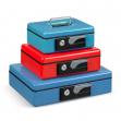 Cassetta portavalori 230x185x80mm rosso koala deluxe - Z12626