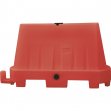 Barriera stradale 100x40x70cm rosso tipo new jersey - Z12691