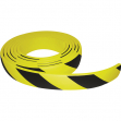 Paracolpi in rotolo 5 metri in gomma nbr h6cm giallo/nero - Z12695