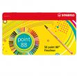 8850-6 scatola metallo 50 pz. stabilo point 88 colori assortiti - Z12708
