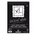 ALBUM XL DESSIN NOIR F.TO A4 150GR 40FG CANSON - Z12970