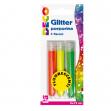 BLISTER GLITTER 3 FLACONI GRANA FINE 12ML COLORI ASSORTITI FLUO CWR - Z13194