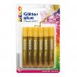 BLISTER COLLA GLITTER 6 PENNE 10,5ML ORO CWR - Z13208