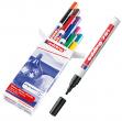 Astuccio 10 marcatori 751 punta fine vernice colori assortiti Edding - Z13619