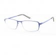 Occhiale diottrie +2,50 mod. Titan blu in metallo Lookkiale - Z13985