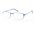 Occhiale diottrie +3,50 mod. Titan blu in metallo Lookkiale - Z13987