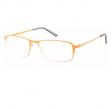 Occhiale diottrie +3,50 mod. Titan arancio in metallo Lookkiale - Z13993